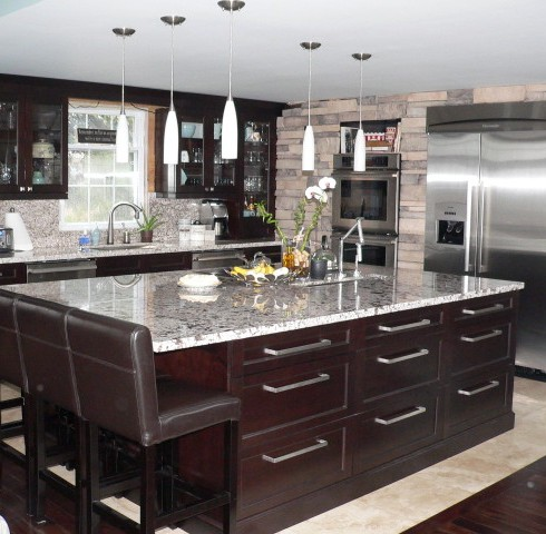 Panel Stone Veneer in the Kitchen image